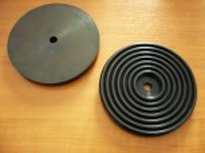 lift pad, rubber pad, rubber plate for Bradbury Lift (142mm x 15mm)