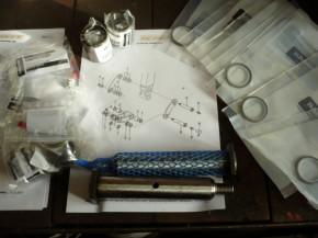 Bushings Bolt Set Gasket Rings Set Yanmar SV17 Mini Excavator ADC00900