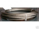 safety cable, steel cable, control cable, shift cable for Romeico H 224 / FOG 449 / SUN lifting platform