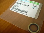 Gasket for nipple cylinder Kubota KX41 Mini excavator 04724-00120