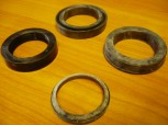 sealing gasket set Nutring Orsta hydraulic cylinder TWS VEB DDR RS 09 GT 124 (rod = 40 mm diameter)