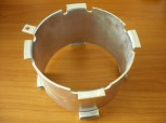 spacer sleeve, increase for lift pad MWH Consul lift type H-models (90mm increase)