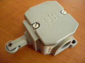limit switch, switch contact Robotron DDR Bernstein Type PWU 1R
