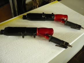 Pneumatic Pneumatic Needle Scaler Needle rust remover gun rust UL SA