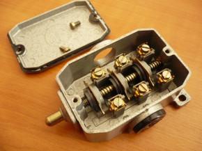 Bernstein Limit switch contact position switch Robotron type GWE 3 St VEB GDR