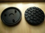 lift pad, rubber pad, rubber plate for OMCN lift (145mm x 26mm)