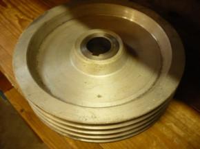 v-belt pulley, toothed pulley, belt disc (250mm diameter) for Romeico H224 / FOG 449 lifting platform