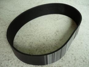 ribbed v-belt, v-belt, drive belt, flat belt for Zippo lift Type 2030 2130 2135 2140 (short version from year 2008)