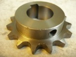 sprocket wheel for Intertech lifting platform Type 251 / 301 / 302 (1/2 Inch sprocket below, with keyway)