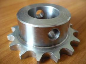 sprocket wheel for ISTOBAL 42712-04 or Blitz Sprint lifting platform (1/2 inch sprocket down with locking pin)