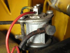 Magnetic valve magnet coil Takraf front forklift VTA forklift DFG 6302 3202 2002