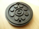 lift pad, rubber pad, rubber plate for Maha lift (120mm x 22mm)