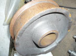 chain sprocket wheel for 1.5 tons VEB Takraf Scissor lift Lunzenau DDR