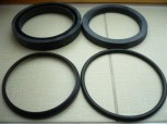 gasket kit, seal kit for 2 tons Takraf Lunzenau scissor lift car lift VEB DDR VEM (rod = 80 mm diameter)