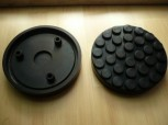 lift pad, rubber pad, rubber plate for Beissbarth Romeico lift R 224 until R 236 (146 mm x 26 mm)