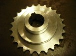 chain sprocket wheel, drive wheel for FOG 444 / FOG4440089 / 664440089 (with feather key)