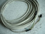 Original 10m cable for potentiometer MWH Consul lift (Connection cable + plug and 3x cable lug connections)