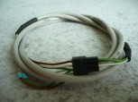 Original 1 meter cable for potentiometer MWH Consul lift (Connection cable + plug and 3x cable lug connections)