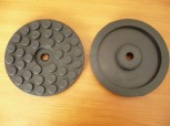 lift pad, rubber pad, rubber plate for Beissbarth Romeico lift R 224 until R 236 models (144mm x 20mm)