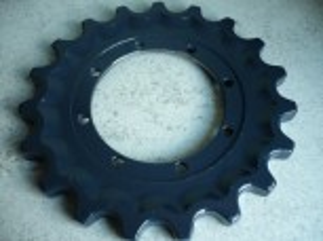 sprocket wheel traction motor Kubota KX41 Mini Excavator 6819814430