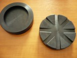 lift pad, rubber pad, rubber plate for Rotary lifting platform (125mm x 26mm)