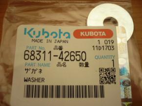 washer Kubota KX41 KX 61 6831142650 Mini excavator