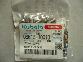 nipple grease Kubota KX41-3 Mini excavators 06613-10010 066131001-0