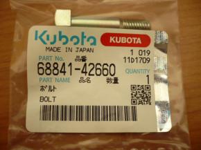 Screw for rubber piece Rubber buffer Kubota KX41 KX61 Excavator 6884142660