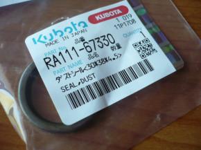 Dust seal 120 Part no. RA111-6733-0 Kubota KX41-3V Mini Excavator