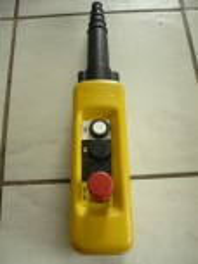 Telemecanique XACA04 pushbutton pendant manual control crane control