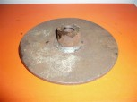 Backing pad for threaded rod spindle 1 to 1.5 tons Takraf Lunzenau scissor lift