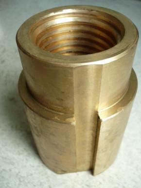 safety nut for Ravaglioli lift type KPN 250 (trapezoidal thread 45x5)