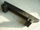 Door stop bar, edge protection for MWH Consul lift Type H 146 / various H models / or 1 post lifts