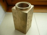 lift nut or load nut for Zippo lift type 1590/1590 LS (rectangular with bearing mount) 5 tons