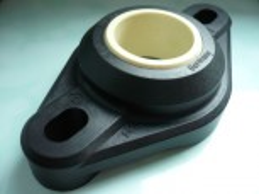 1x flange bearings igubal (plain bearing bush) for lower spindle bearing for Zippo 1750 lift