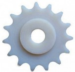 chain sprocket wheel for Romaico Typ H225 H226 H227 H230 H231 H232 lifts (plastic with 15 teeth)